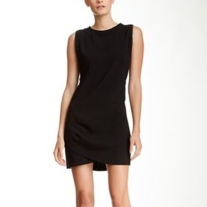 BCBGeneration Split Hem Zip Seam Cocktail Dress.